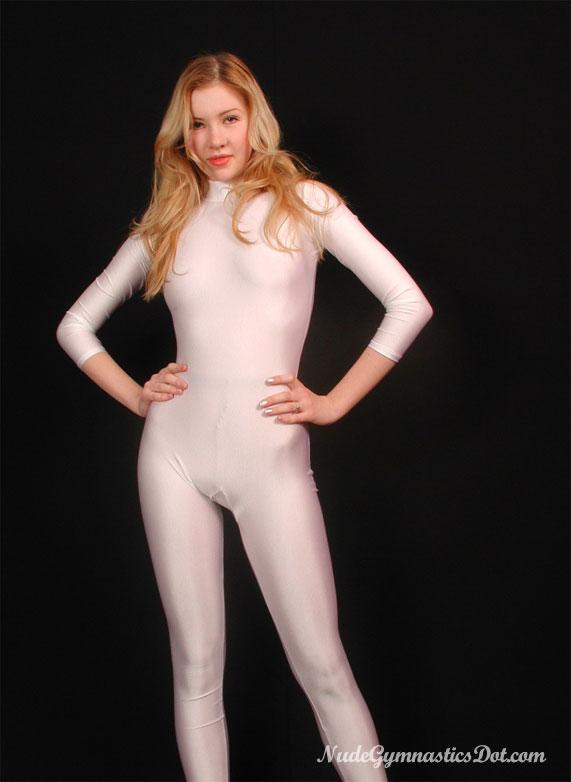 Sexy gymnast Julia