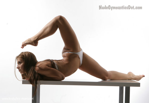 Nude gymnasts