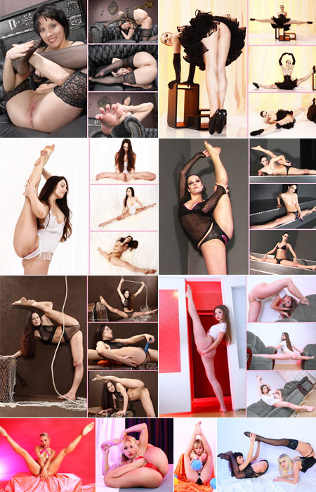 Yoga erotic nudes and nude gymnastics