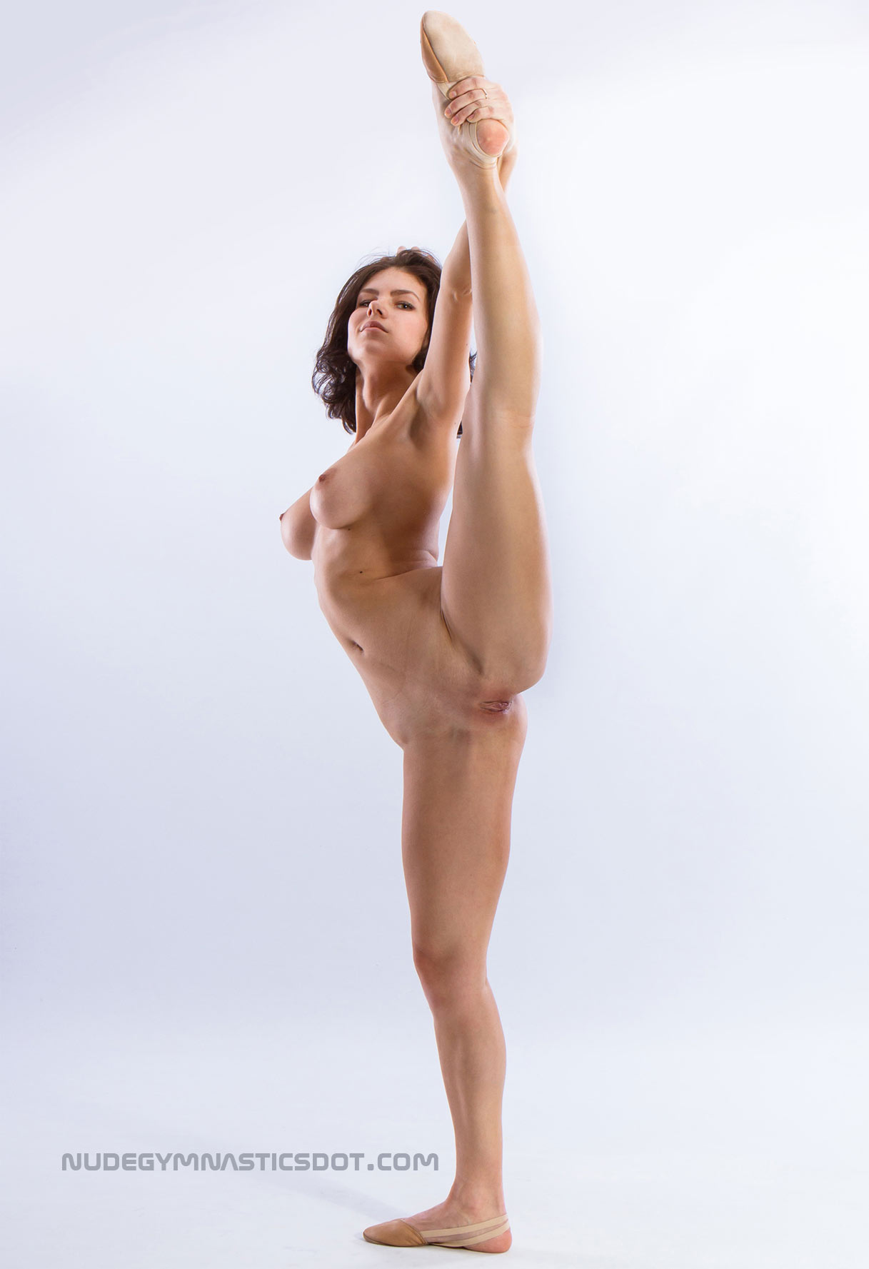gymnastic girls in leotards and nude